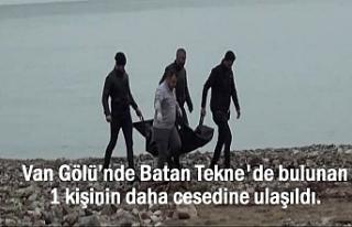 Van Gölü'nden çıkarılan ceset sayısı 8'e...