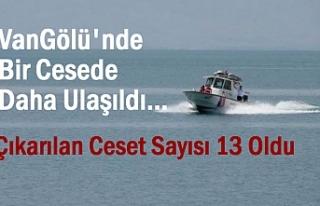 Van Gölü'nden şimdiye kadar 13 ceset çıkarıldı