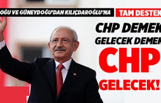 Van ve Bölgeden Kılıçdaroğlu'na Destek