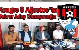 Vanspor FK Başkanı Yenitürk: Yeniden Aday Olmayacağını...