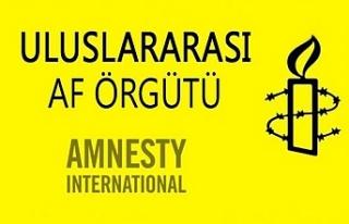 Af Örgütü'nden imza kampanyası