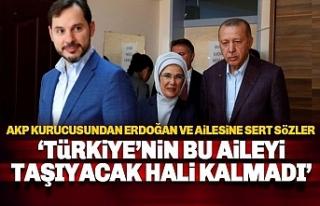 AKP Kurucusu: Türkiye'nin bu aileyi taşıyacak...