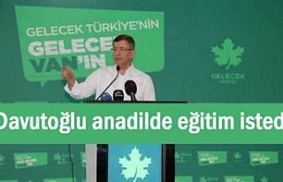 Davutoğlu'nun Van'daki Gündemi: Kürt...