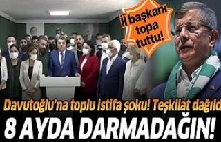 Gelecek Partisinde Toplu istifa şoku!