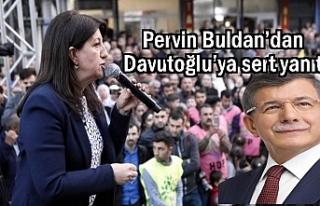 HDP'li Buldan'dan Ahmet Davutoğlu'na sert...