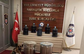 Van'da 310 kilo uyuşturucu ele geçirildi