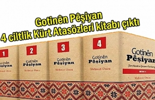 4 ciltlik Kürt Atasözleri kitabı çıktı