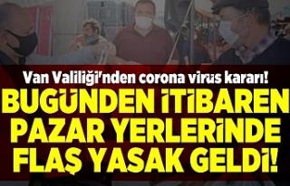 Van'da Şehir Genelinde Tamamen Yasaklandı