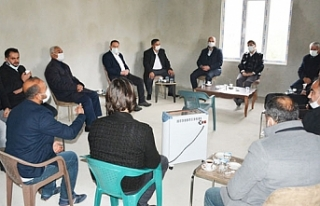 AK Parti heyeti Hacıbekir mahallesini ziyaret etti