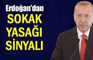 Cumhurbaşkanı Erdoğan'dan yeni yasaklar sinyali
