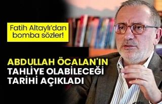 Fatih Altaylı'dan Abdullah Öcalan iddiası! Tarih...