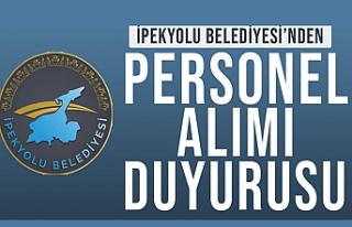 İpekyolu Belediyesi Personel Alımı Yapacak