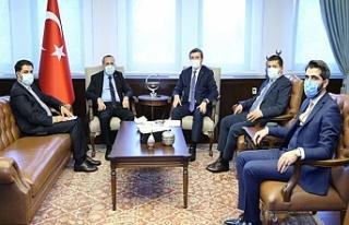 Kapıköy Sorunu Dışişleri Bakanlığı ile görüşüldü