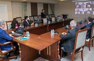 Vali Bilmez 13 ilçeye telekonferansla bağlandı