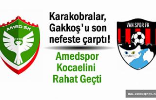 Vanspor Gakkoş'u Avladı: 2-1