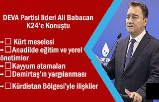 Babacan: Kürt sorunu, devlet ile Kürtler arasında...