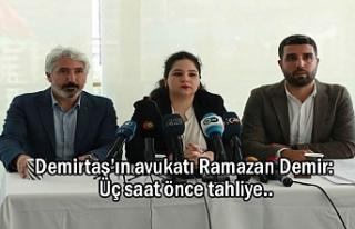 Demirtaş'ın avukatı Demir: Tahliye Talebinde...