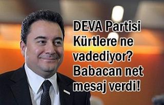DEVA Partisi Kürtlere ne vadediyor? İşte Cevabı