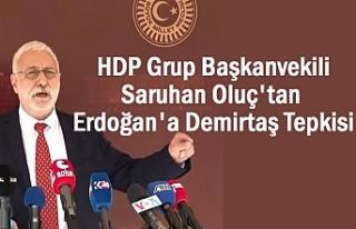 HDP'den Erdoğan'nın Demirtaş açıklamasına...