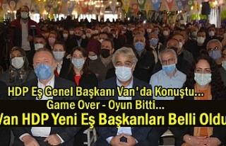 HDP EşGenel Başkanı Sancar Van'da Konuştu:...