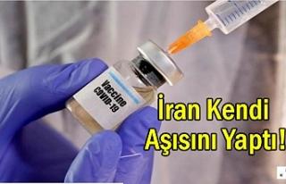 İran Koronavirüs Aşısı Yapan 10 Ülke Arasında