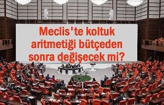 Meclis'te koltuk aritmetiği değişecek mi?