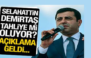 'Selahattin Demirtaş tahliye edilecek'...