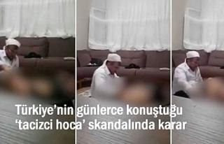 'Tacizci Hoca' Tahliye Edildi!