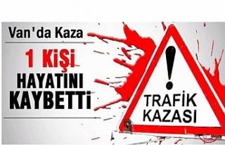 Van - Erciş karayolunda kaza: 1 ölü