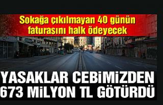 40 Günlük Sokağa Çıkma Yasağının Faturası...