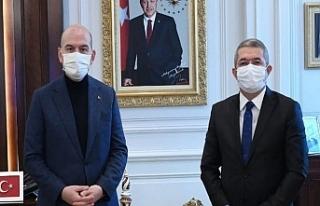 Başkan Takva 'Kapıköyü' Bakan Soylu'ya...