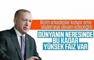 Erdoğan: Dünyanın Neresinde Bu Kadar Yüksek Faiz...