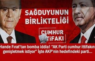"""Fırat: """"AK Parti cumhur ittifakını genişletmek..."""