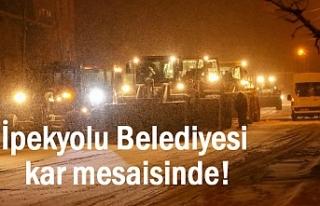 İpekyolu'nda Kar Mesaisi Başladı...