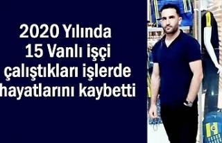 İstanbul'da İnşaattan düşen Vanlı işçi...