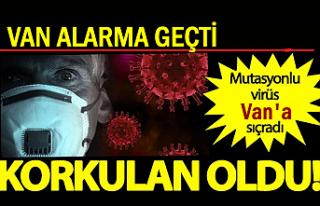Mutasyonlu Koronavirüs Van'a Sıçradı! 1 Kişi...