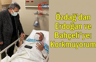 Saldırıya uğrayan Özdağ'dan Erdoğan ve Bahçeli'ye:...