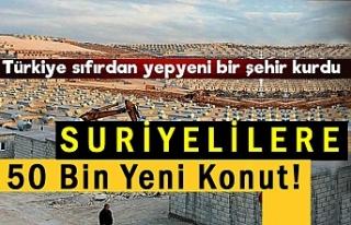 Türkiye Suriyelilere Şehir Kurdu!