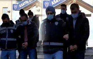 Van'da, 17 suç kaydı olan 4 kişiye tutuklama
