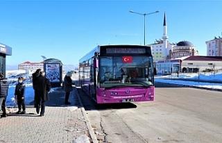 Van'da yeni otobüsler seferlere başladı