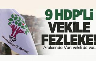 Van ve 8 Vekil hakkında 'Kobane' fezlekesi