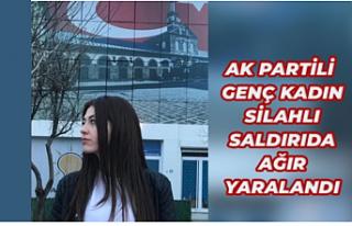 AK Parti Kadın Komisyonu Başkanı silahlı saldırıya...