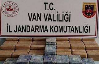 Başkale'de 72 kilo eroin yakalandı 1 Gözaltı