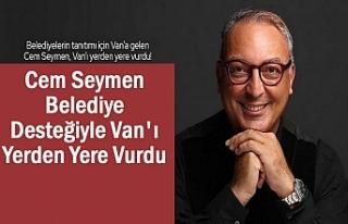 Cem Seymen Van'ı Belediye Desteğiyle Rezil...