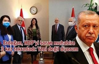 Erdoğan'a HDP'nin Muhalefet Turu Soruldu
