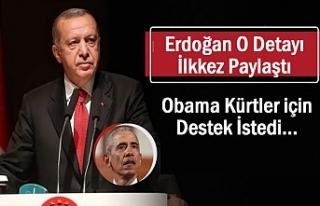 Erdoğan: Eski ABD Başkanı Obama Kürtler için...