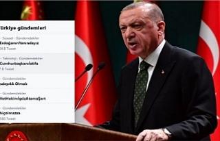 Erdoğan'ın açıklaması sonrası 'Cumhurbaşkanıİstifa'...