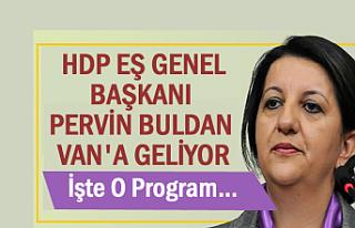 HDP'nin İş ve Aş Buluşmaları 3. Durağa Van