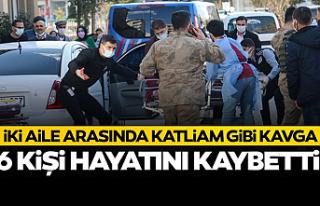 İki aile arasında silahlı kavga: 6 ölü 4 yaralı