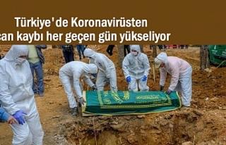 Türkiye'de korona'dan can kaybı 26 bin...